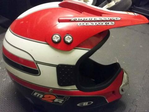 Kids motorbike helmet small