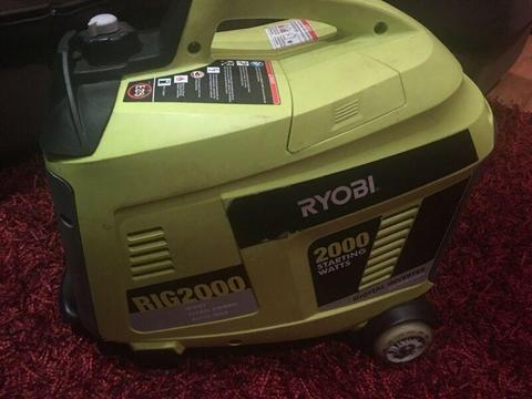 Wanted: Ryobi generator
