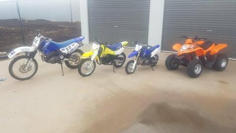 Motor bikes for sale