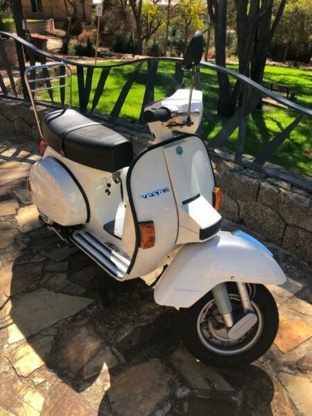 RARE 1984 Vespa Motovespa PX200 Scooter