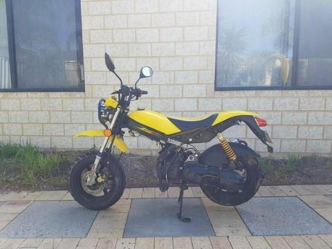 2013 Adly rt-50 boredkit 70cc registered