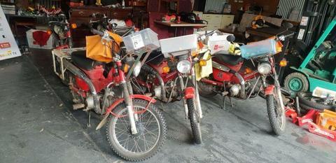 Honda ct110.Postie