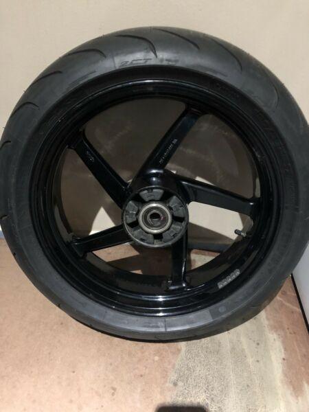 Aprilia RS250 back rim
