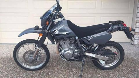 Suzuki DR650 motorcycle