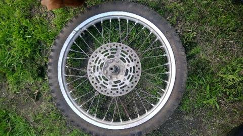 Dirt bike wheel/rim