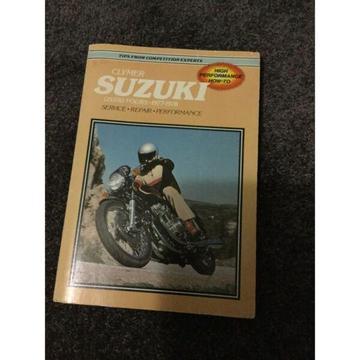 Clymer Suzuki Service Manual GS550 Fours1977-1978
