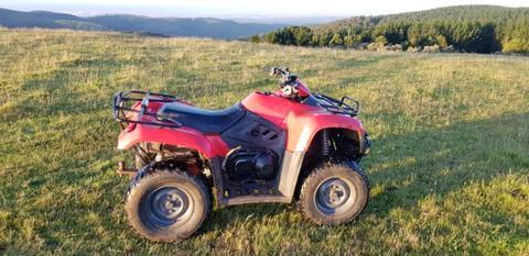 Kymco MXU400 - 4x4 quad