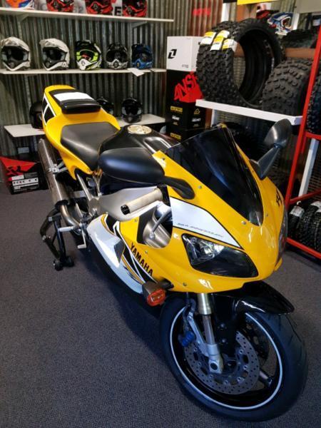 Motor bike Yamaha R1 50th anniversary