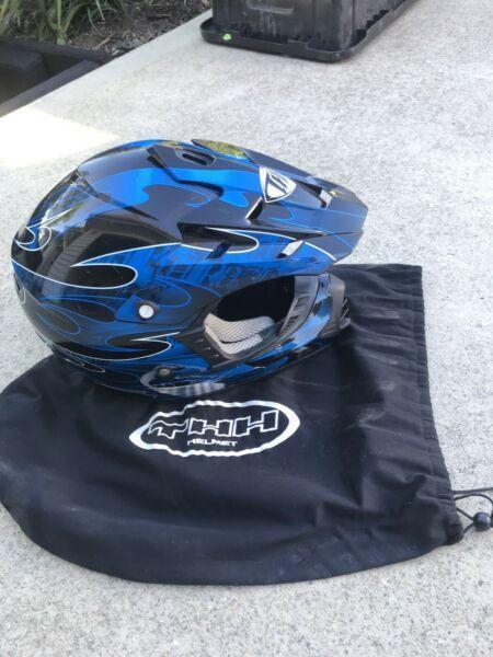 Motor bike helmet kids
