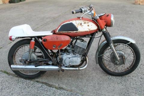 YAMAHA YR1 350 1968.RARE