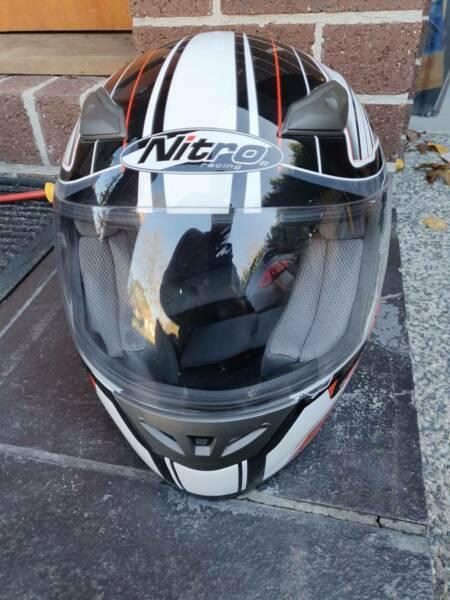 Nitro Racing Reactor Motorcycle Helmet