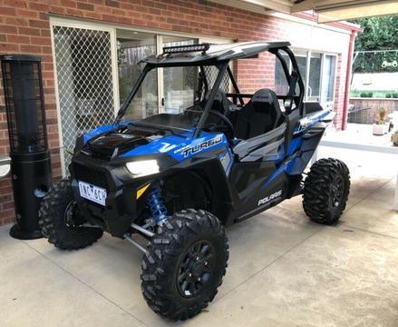 2018 Polaris RZR XP Turbo ATV Buggy - bear new condition