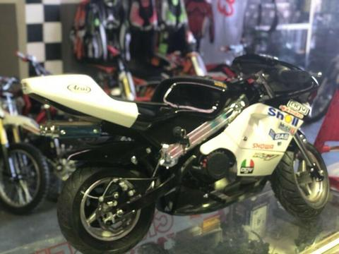 2018 50CC MINI ROAD BIKE POCKET BIKE 50KMH TOP SPEED
