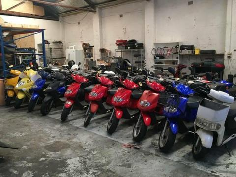 13 Delivery Scooters various TGB Tonelli Skads