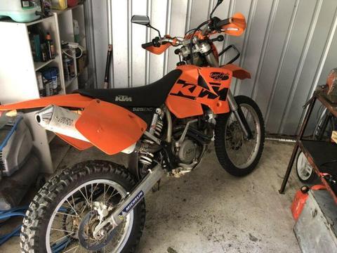 03 ktm 525 exc sell or swap