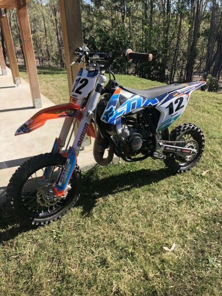 Ktm 50 Pro Senior - Brick7 Motorcycle