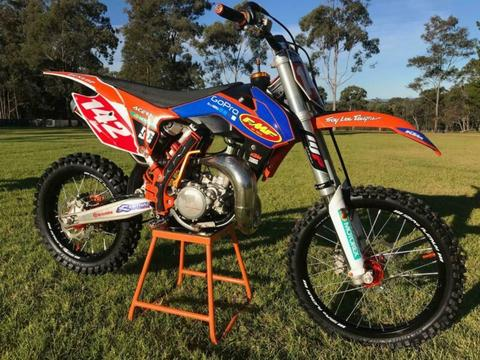 KTM SX 85 2016 Big and Small Wheel