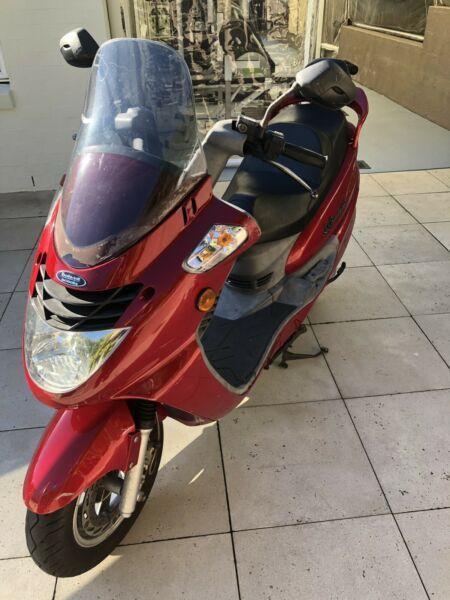 Scooter bolwel Le grande 125 sym