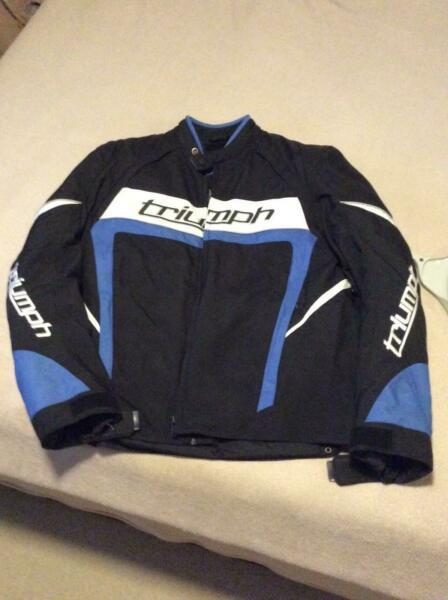 Triumph Motorcycle Jacket Used