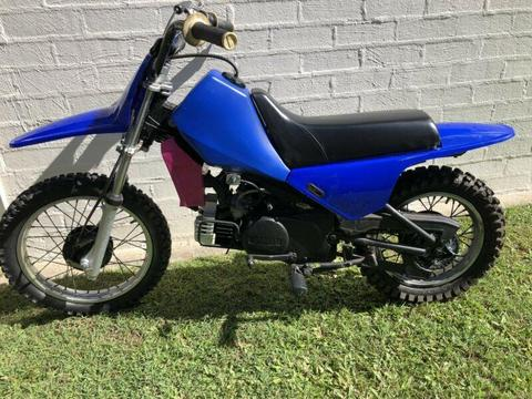 Yamaha 80cc motorbike