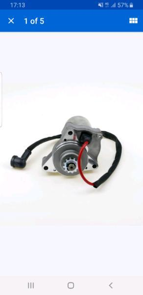 Starter for chinese ATV / pitbike engines fits 50cc up to 125cc
