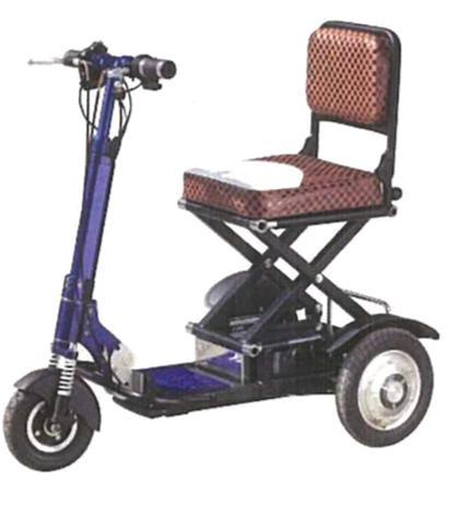 Foldable Battery Powered Mobility Scooter. 12 mths Warranty