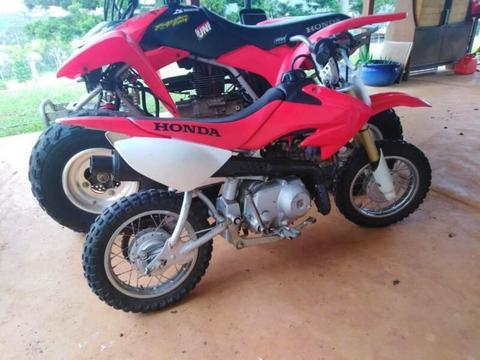 07 Honda Crf 50F