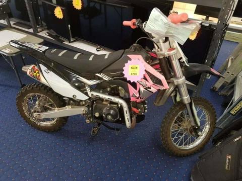 2018 Thumpstar TSB 110cc Motor Bike
