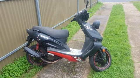 TGB Xrace Scooter 150cc