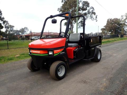 2012 CUSHMAN TURF TRUCKSTER DIESEL UTILITY VEHICLE ATV BUGGY QUAD BIKE JOHN DEERE GATOR TORO WORKMAN