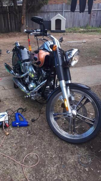 Custom,motor bike,,harley