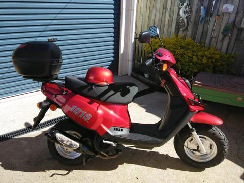 Tgb 101s scooter