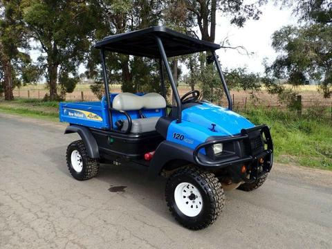 2015 NEW HOLLAND RUSTLER 120 DIESEL UTILITY VEHICLE ATV FARM KART BUGGY QUAD BIKE JOHN DEERE GATOR