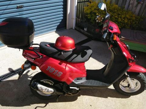Tgb101s scooter