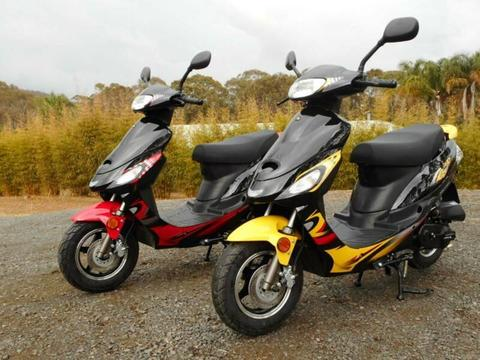 50cc SPRINT SPORT MOPED, BRAND NEW 2019 MODEL, RIDE ON CAR LICENCE