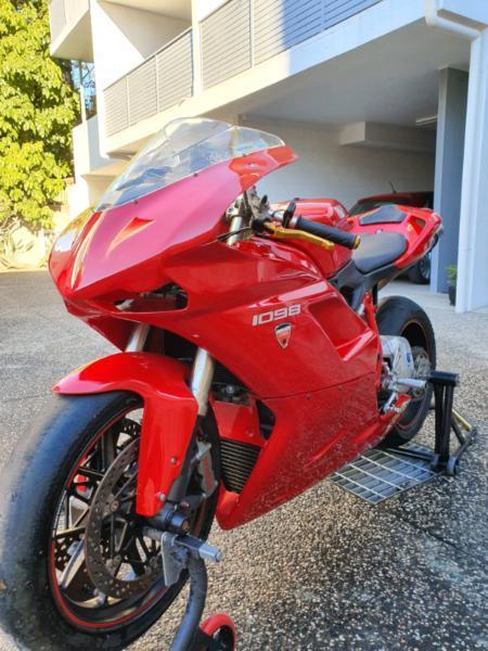 Ducati 1098 Track Bike