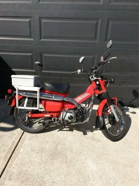 2011 Honda CT110 Postie Bike