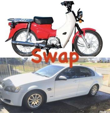 Swap - 2009 Holden Commodore for Postie