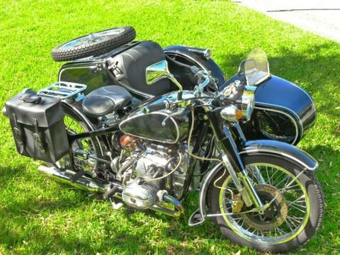 motor cycle bike CJ 750 sidecar for sale