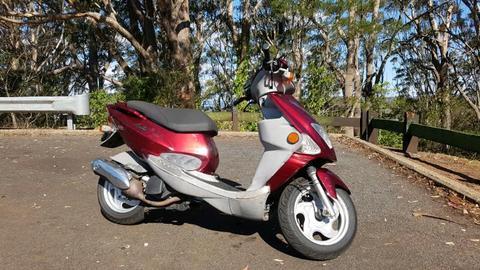 PGO ARRIBA 125cc 4 stroke scooter 2004