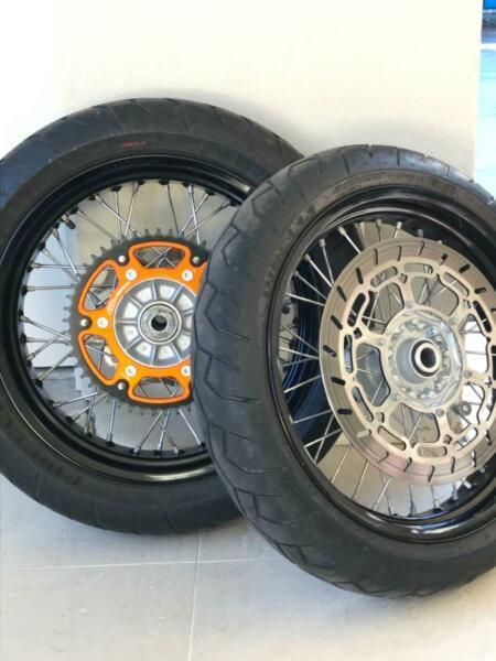 KTM Supermotard wheels
