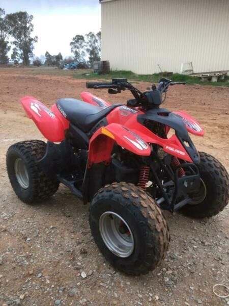 Polaris 90 quad bike