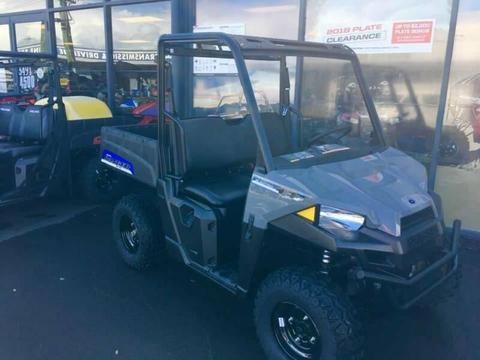 The All New Polaris EV Electric Ranger