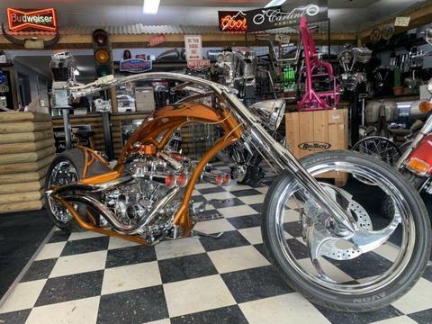 Custom show bike chopper