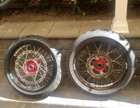 Sm pro mortard wheel set $1200