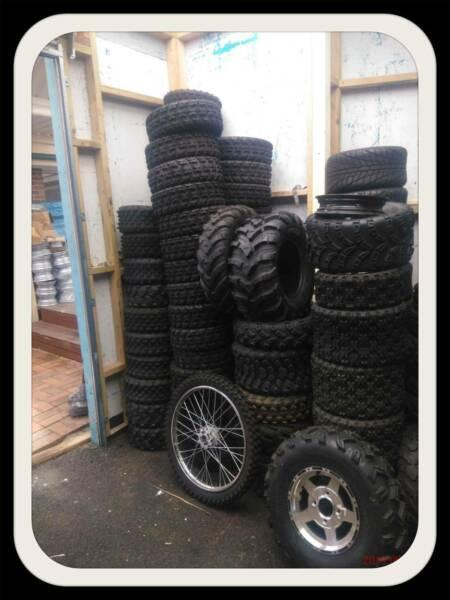 QUAD 4 WHEELER TYRES FARM ATC ATV UTV