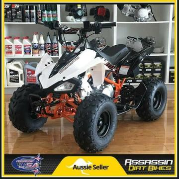 ASSASSIN KAYO PREDATOR KIDS ATV 110CC QUAD DIRT PIT BIKE GO KART