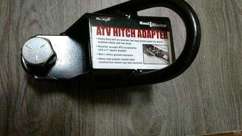 ATV hitch adapter as new
