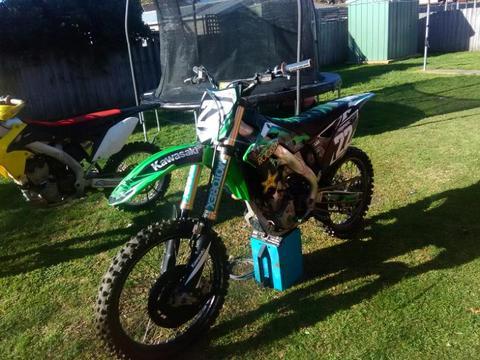 2013 KX250F Kawasaki