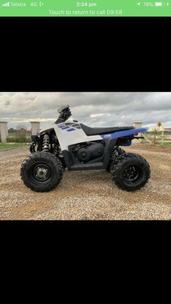 Polaris scrambler 500cc not a Yamaha Suzuki Honda can-am ATV quad bike
